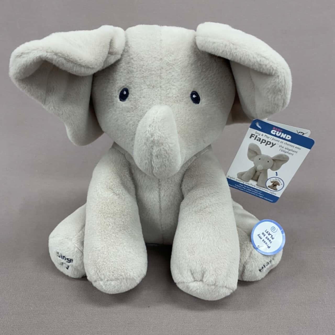 Baby Gund Flappy Singing Elephant