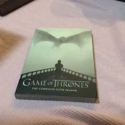 GAME OF THRONES THE COMPLETE FIFTH SEASON 5 dvds set