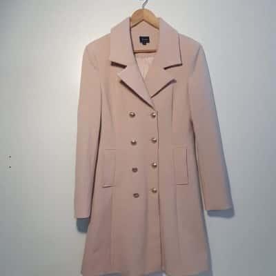 *REDUCED* Pale Pink Bardōt Coat - Size 12