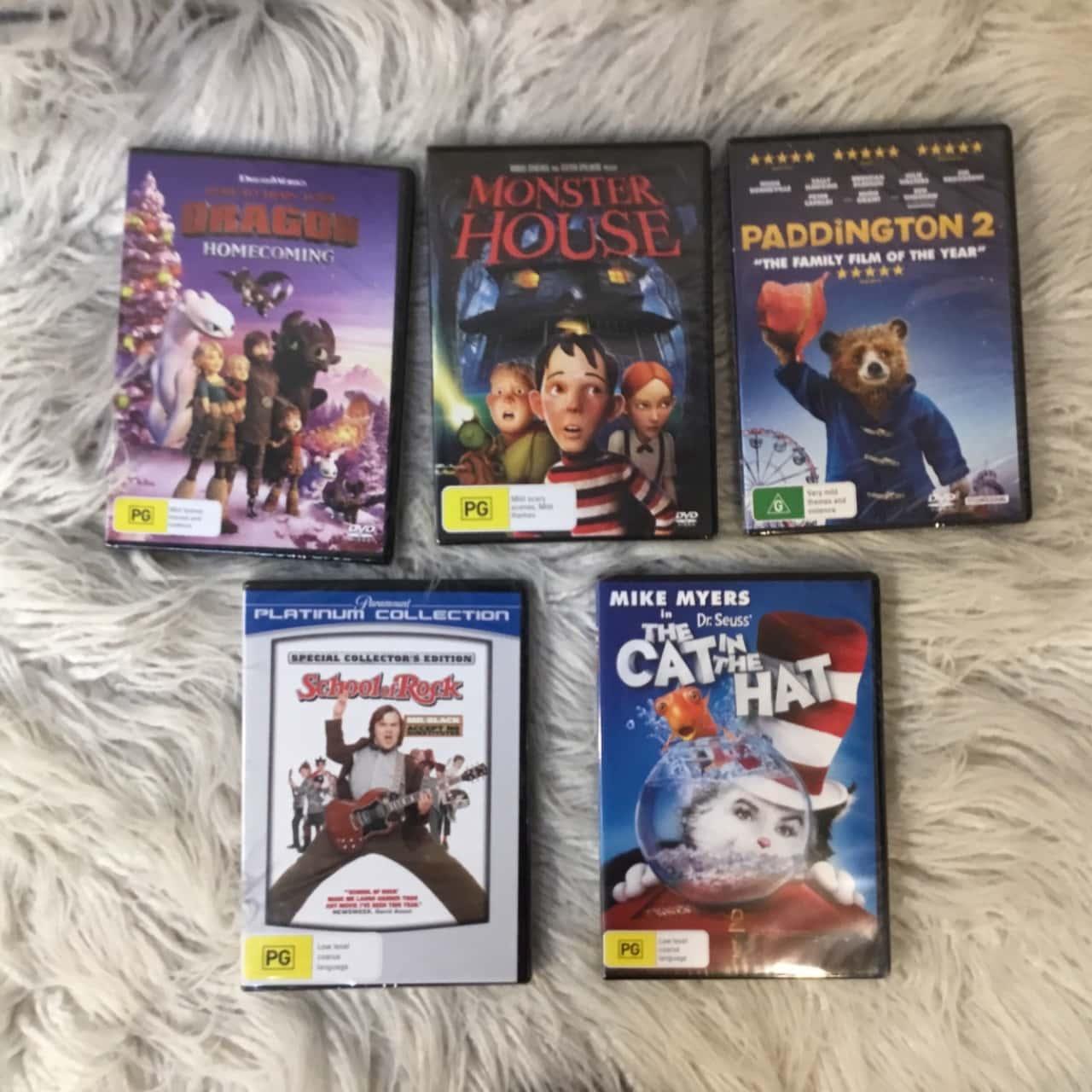 DVD Bundle Pack