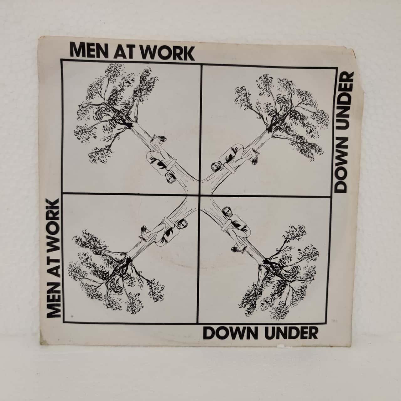 "7"" Single Vinyl Record - Men At Work - Down Under"