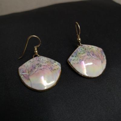 Vintage Pink Womens Earrings