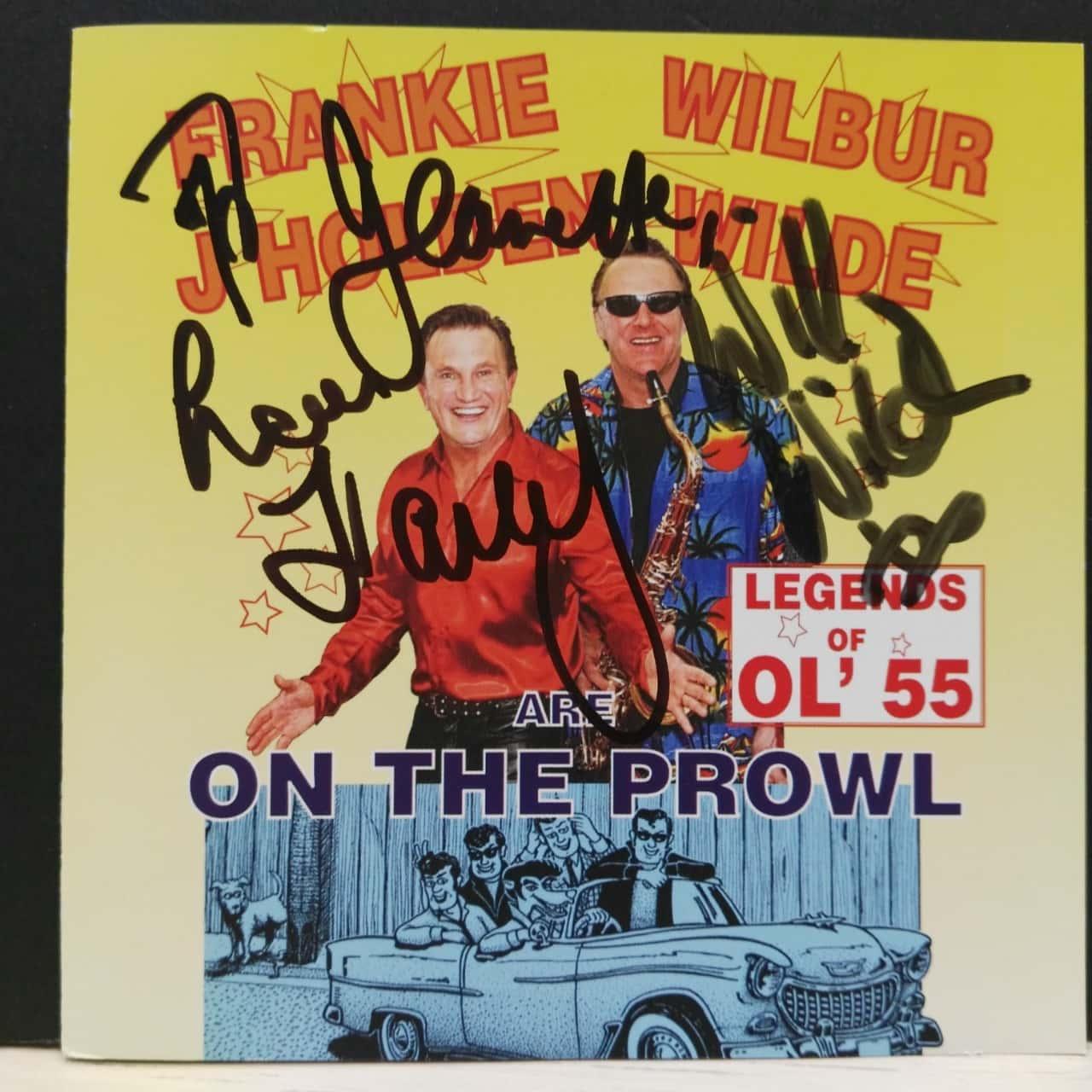 Music CD by Frankie J Holden & Wilbur Wilde