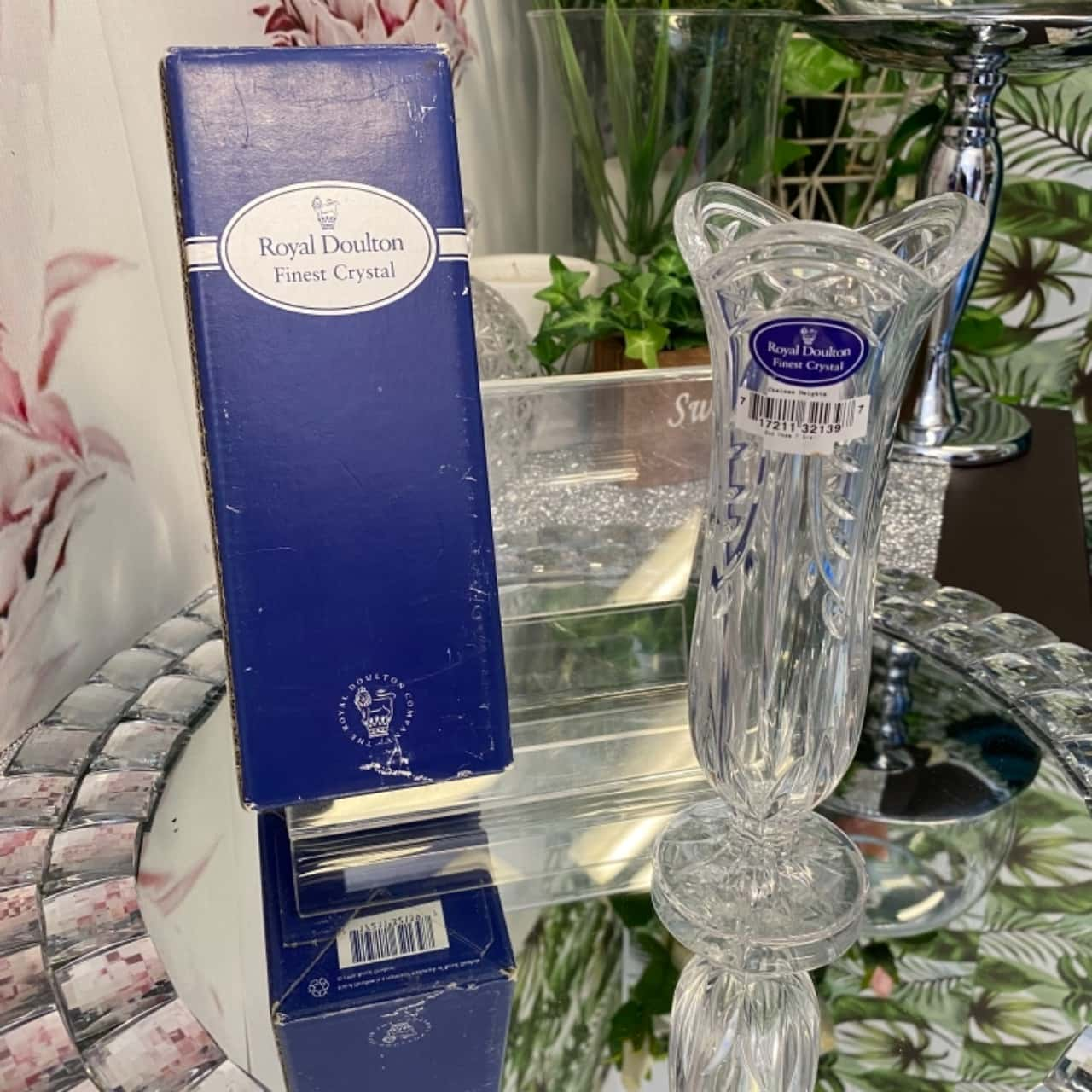 Royal Doulton Crystal Vase
