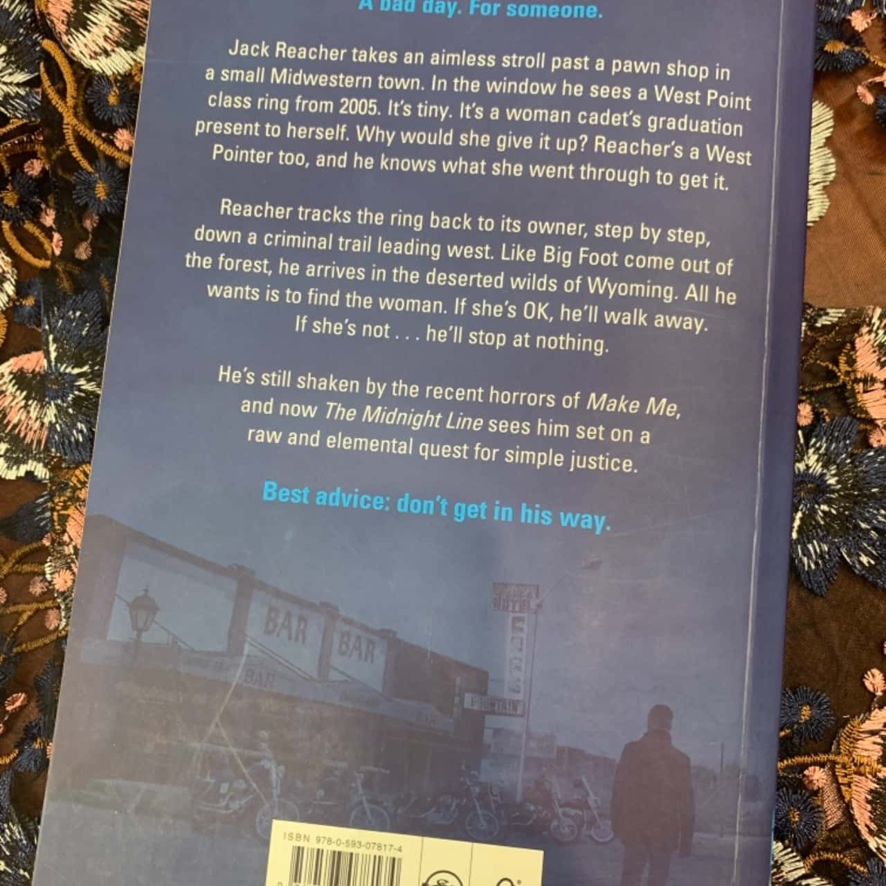 RRP $33 LEE CHILD The Midnight Line Jack Reacher #22
