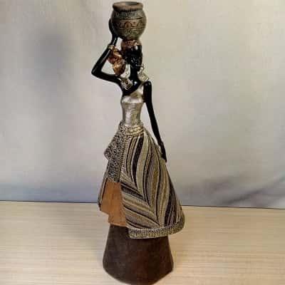 African Lady Figurine/Statue 36cm