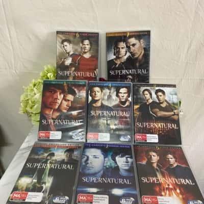 Supernatural The Complete Seasons 1-8