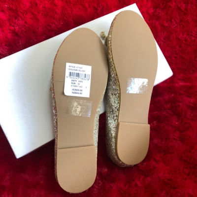 Witchery Kids Shoes Gold/Silver  size 32