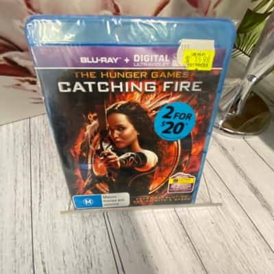 BlueRay DVD The Hunger Games Catching Fire Brand New