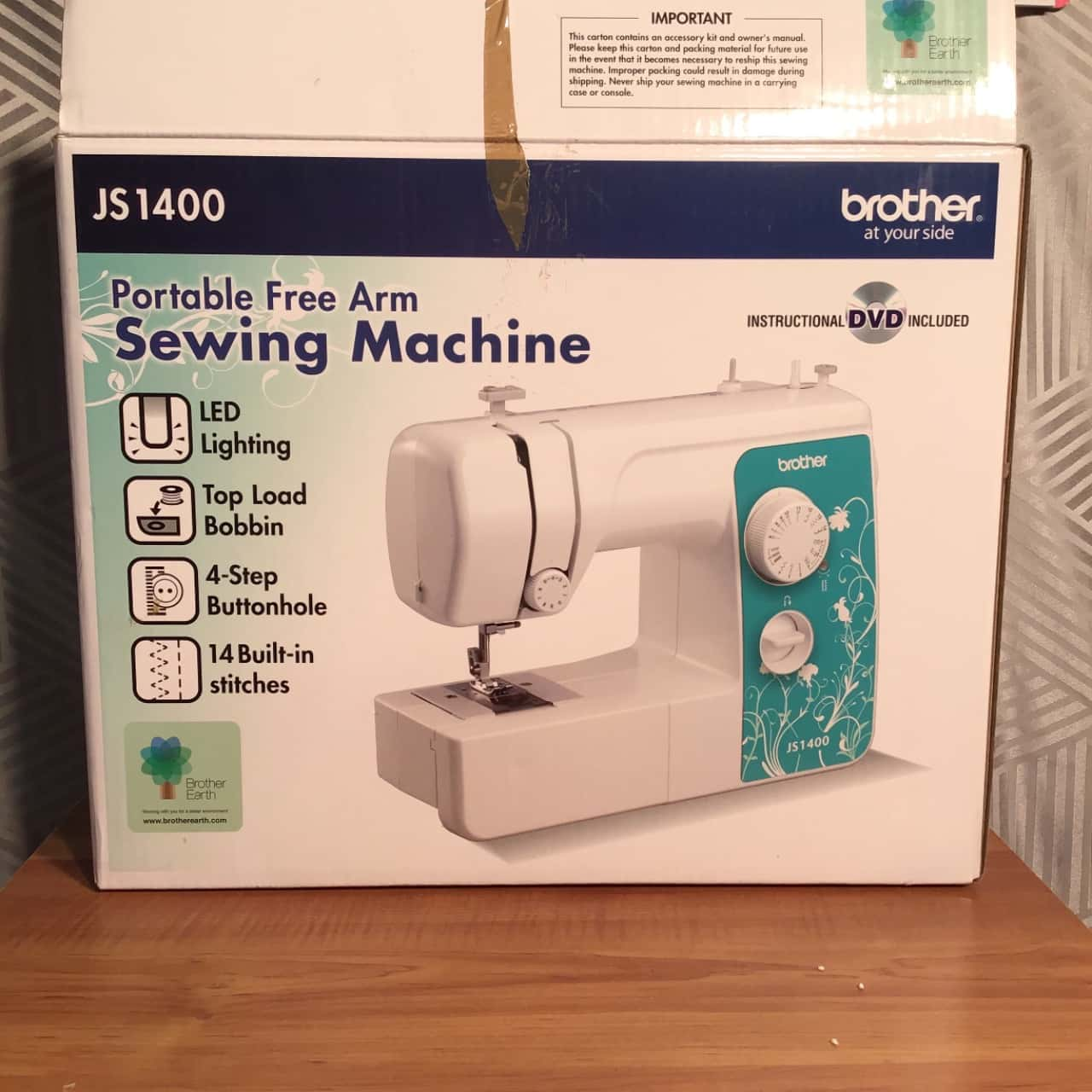 Brother JS1400 Sewing Machine