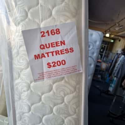 Queen Enviro Mattress - reconditioned