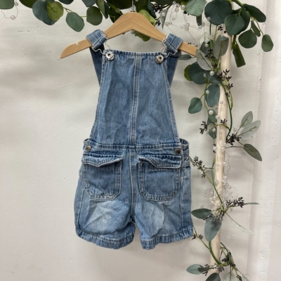 Seed Heritage Kids  Size 3 Blue overalls