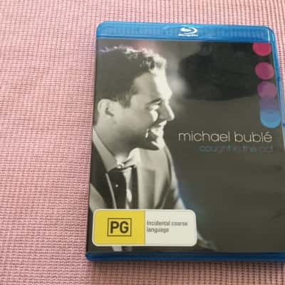 Michael Buble Caught In The Act Blu-ray Disc