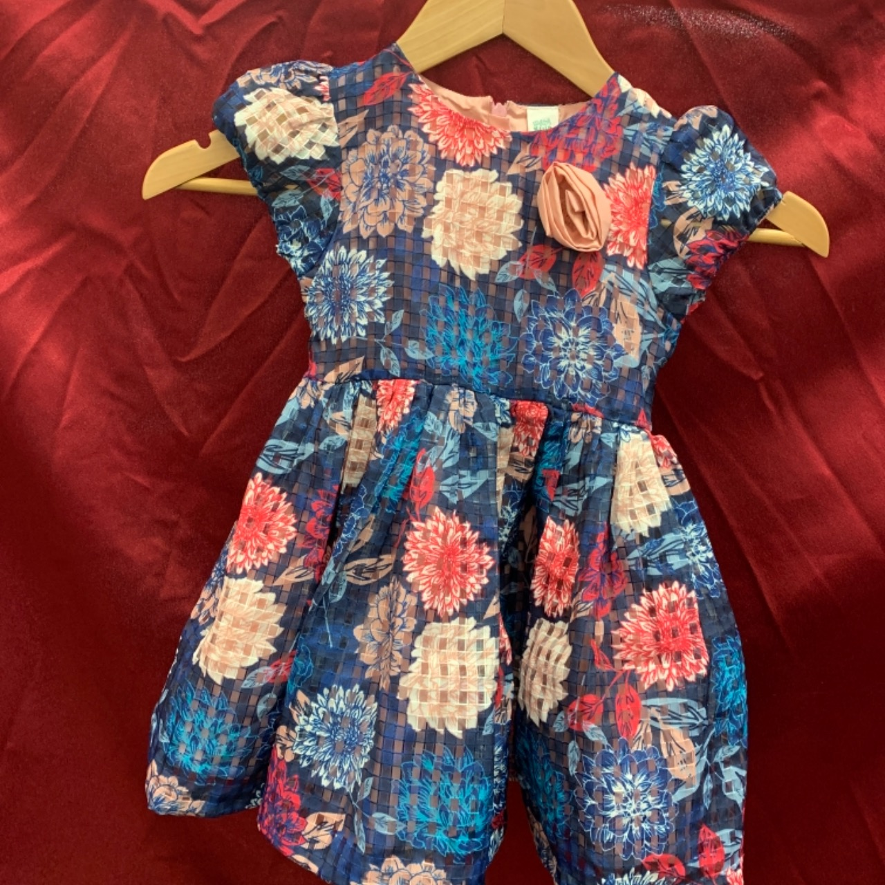 """""""Mini Klub"""" Floral Girls Parry Dress 2-3 years"""