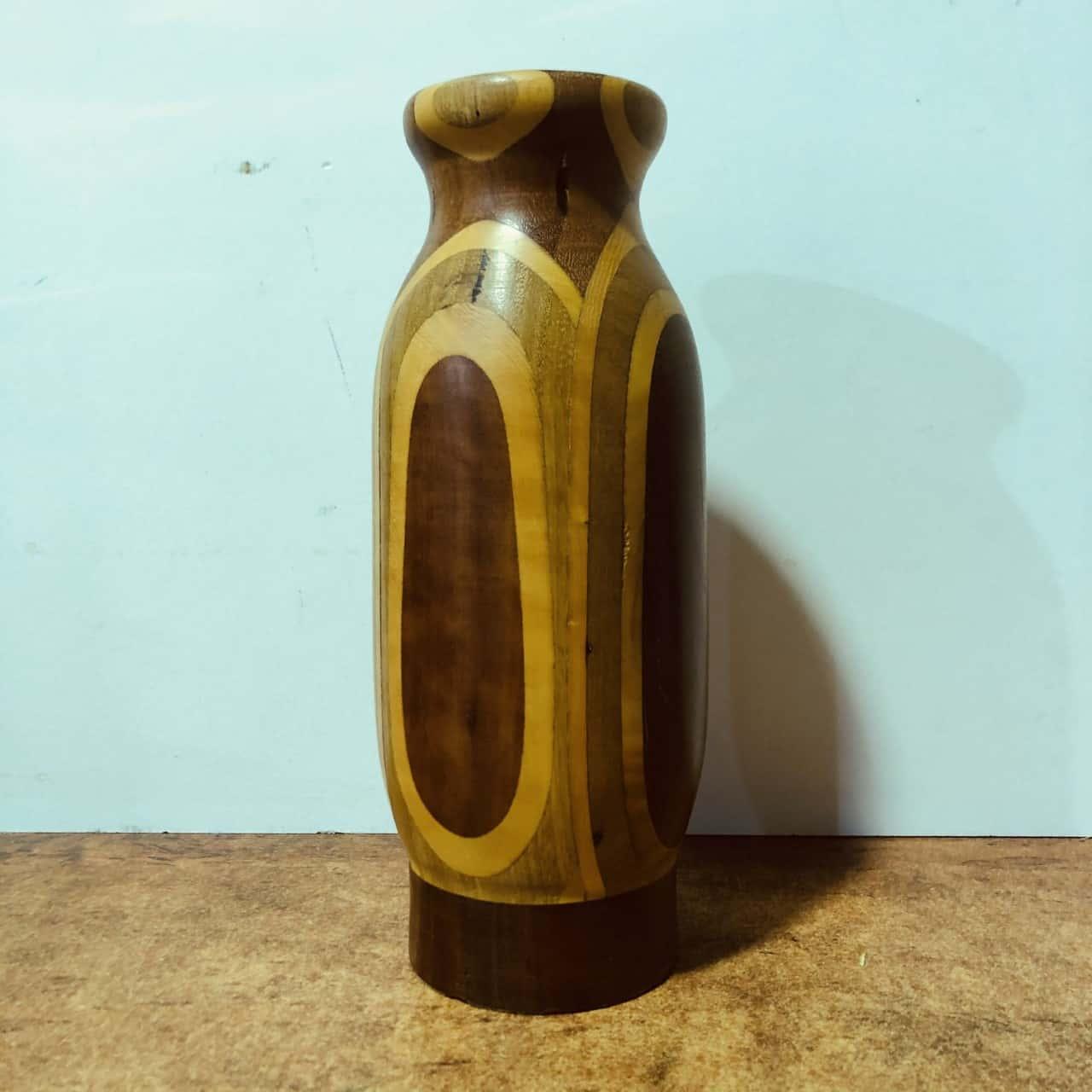 'REDUCED' Wooden Vase
