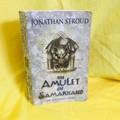 THE AMULET OF SAMARKAND BY JONATHAN STROUD-BOOK