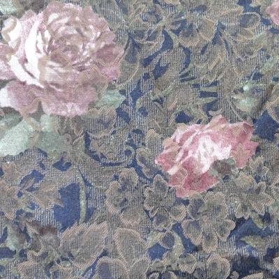New Material UPHOLSTERY TYPE FLORAL 460cm x 140cm Pink, Browns,Green, Cream, Blue