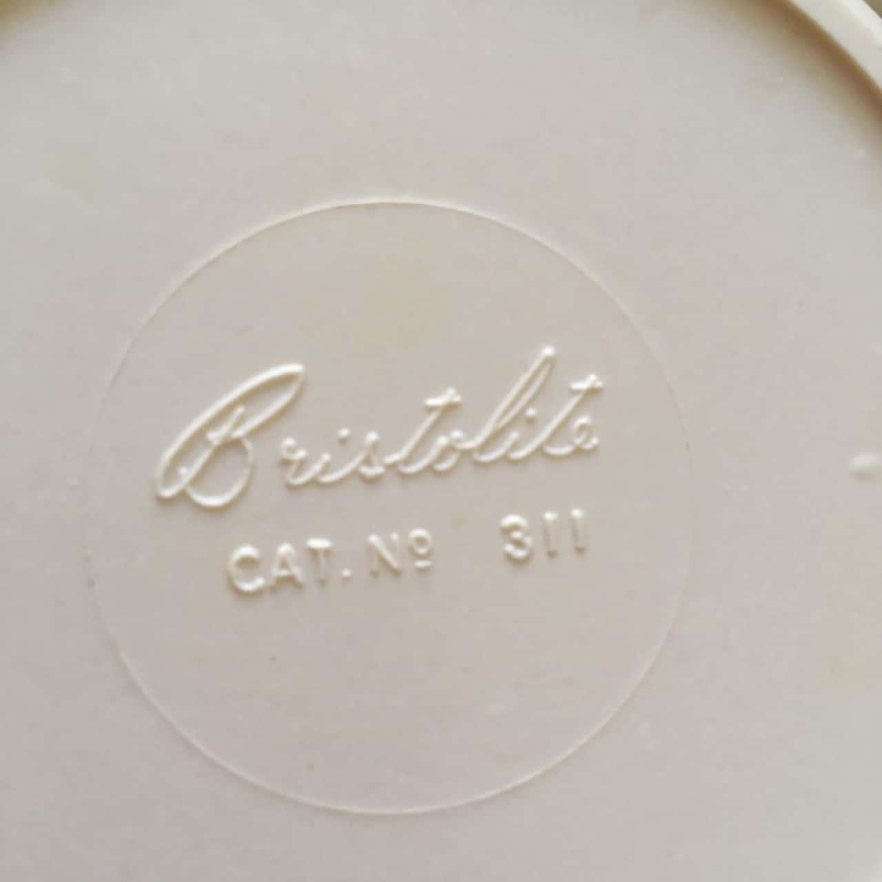 Vintage Bristolite Set of 5 Storage Canisters