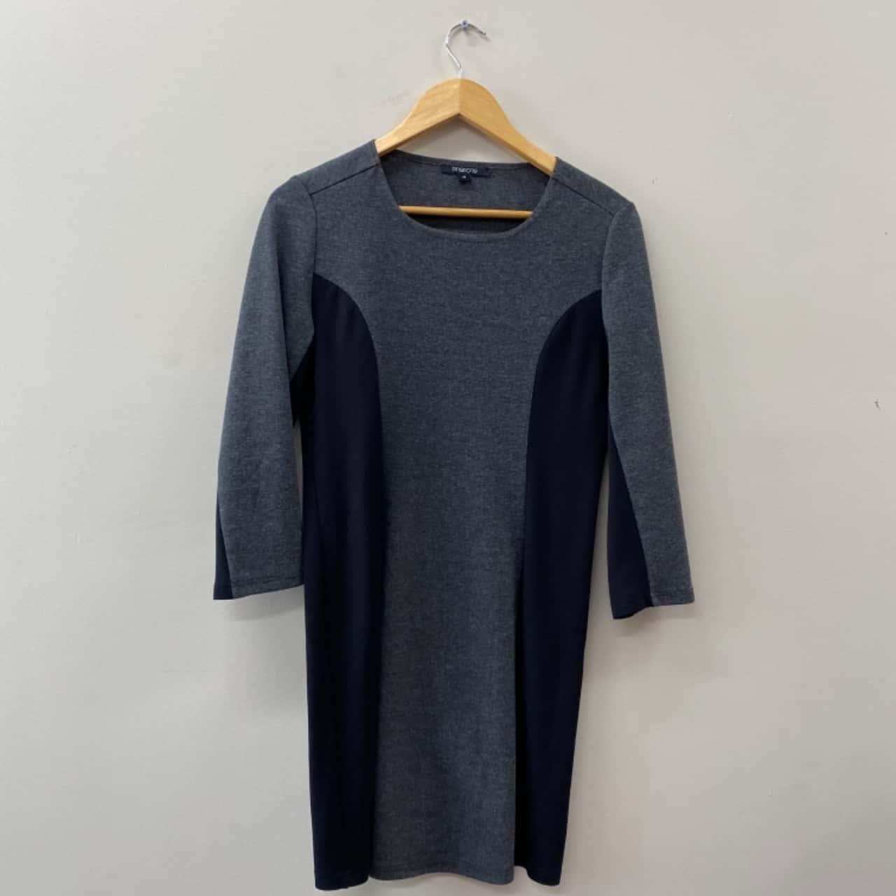 ** REDUCED LAST CHANCE ** Pingpong Women's Dress Size 10 Black /Grey