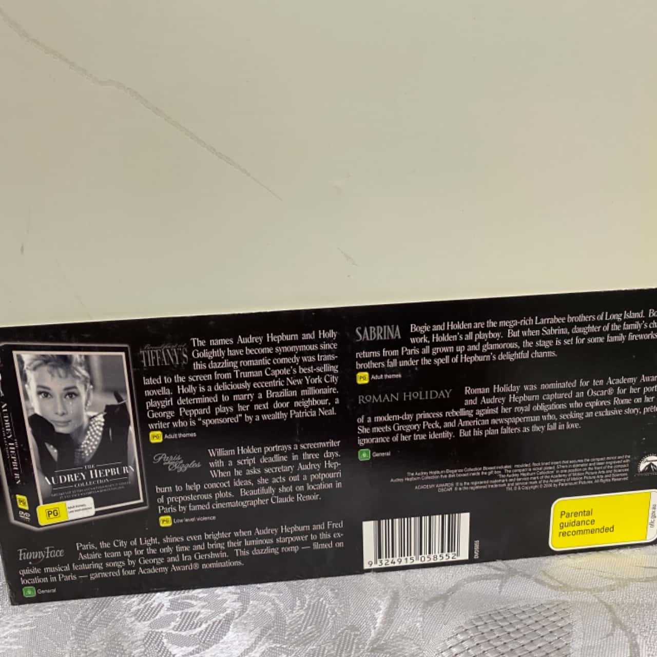The Audrey Hepburn Collection 5 DVD Set
