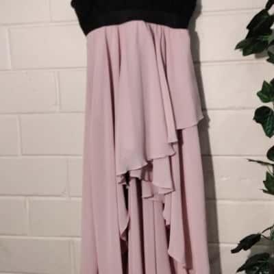 Kids  Size 10 Dress Black /Pink  Weissman