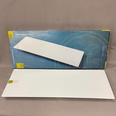 Villa White Rectangular Platter New