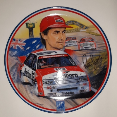 Peter Brock King of the mountain plates