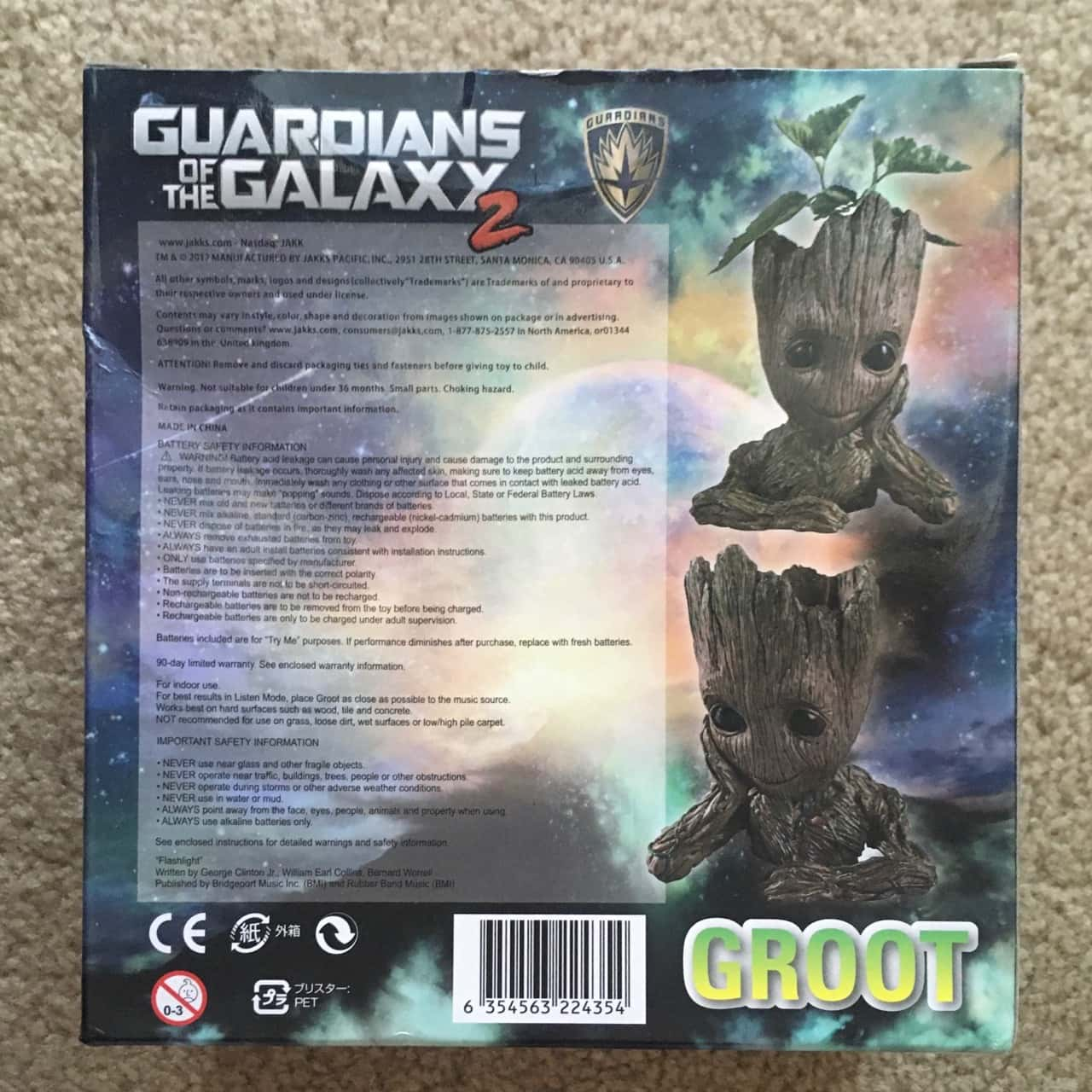 Guardians of the Galaxy 2 Groot