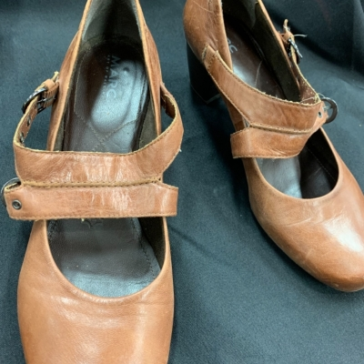 """MARC """"Art of Walking"""" Brown Leather Shoes EU40"""