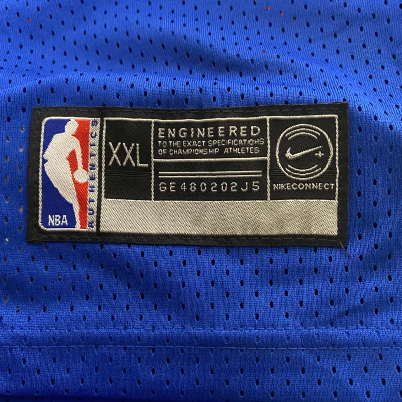 Mens Denver Nuggets #15 ANTHONY JERSEYS Size XXL Blue/Multicoloured