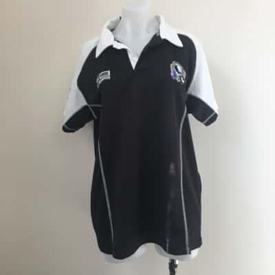 REDUCED! AfL Men's Size L Black /White Collingwood Member 2011