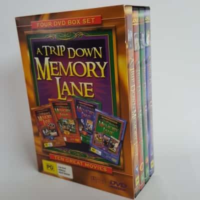 A Trip Down Memory Lane -4 DVD Box Set
