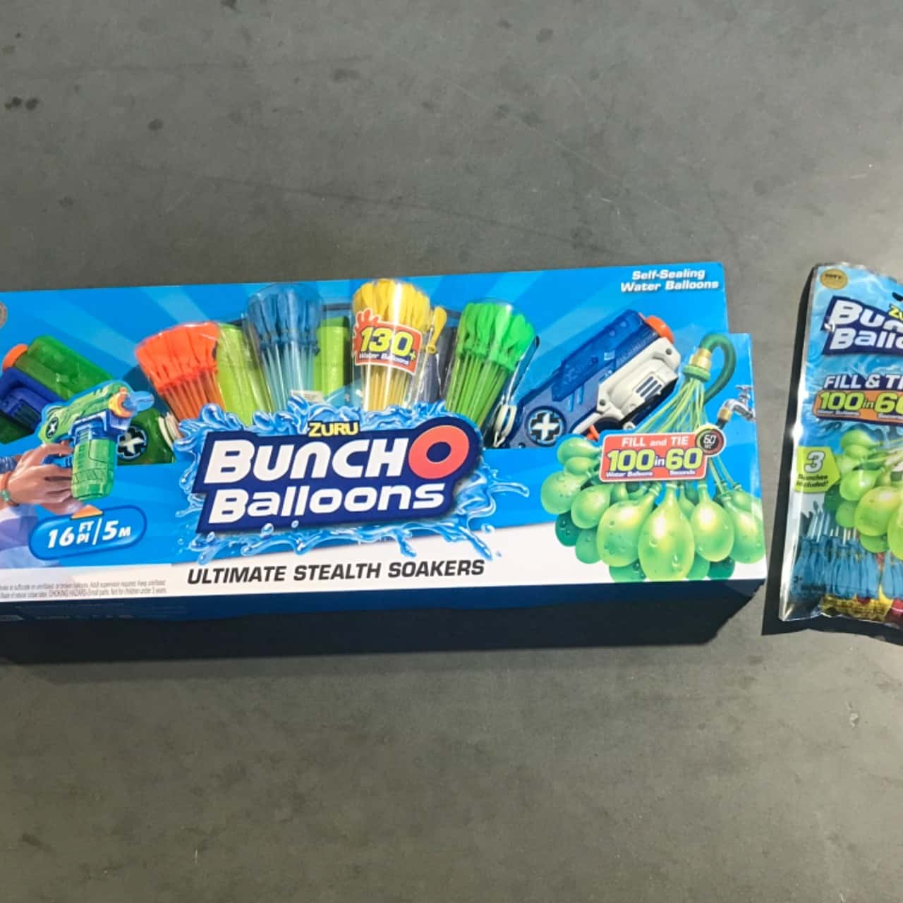 Zuru Bunch O Balloons Ultimate Stealth Soakers with Extra Balloons.