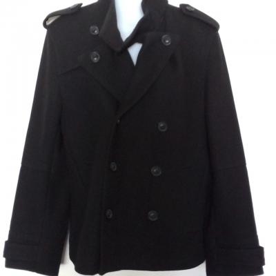 Mens BOSSINI Warm Winter Coat  Size S Black