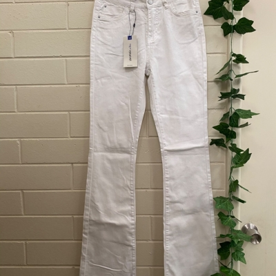 Womens Jeans Size 28 White