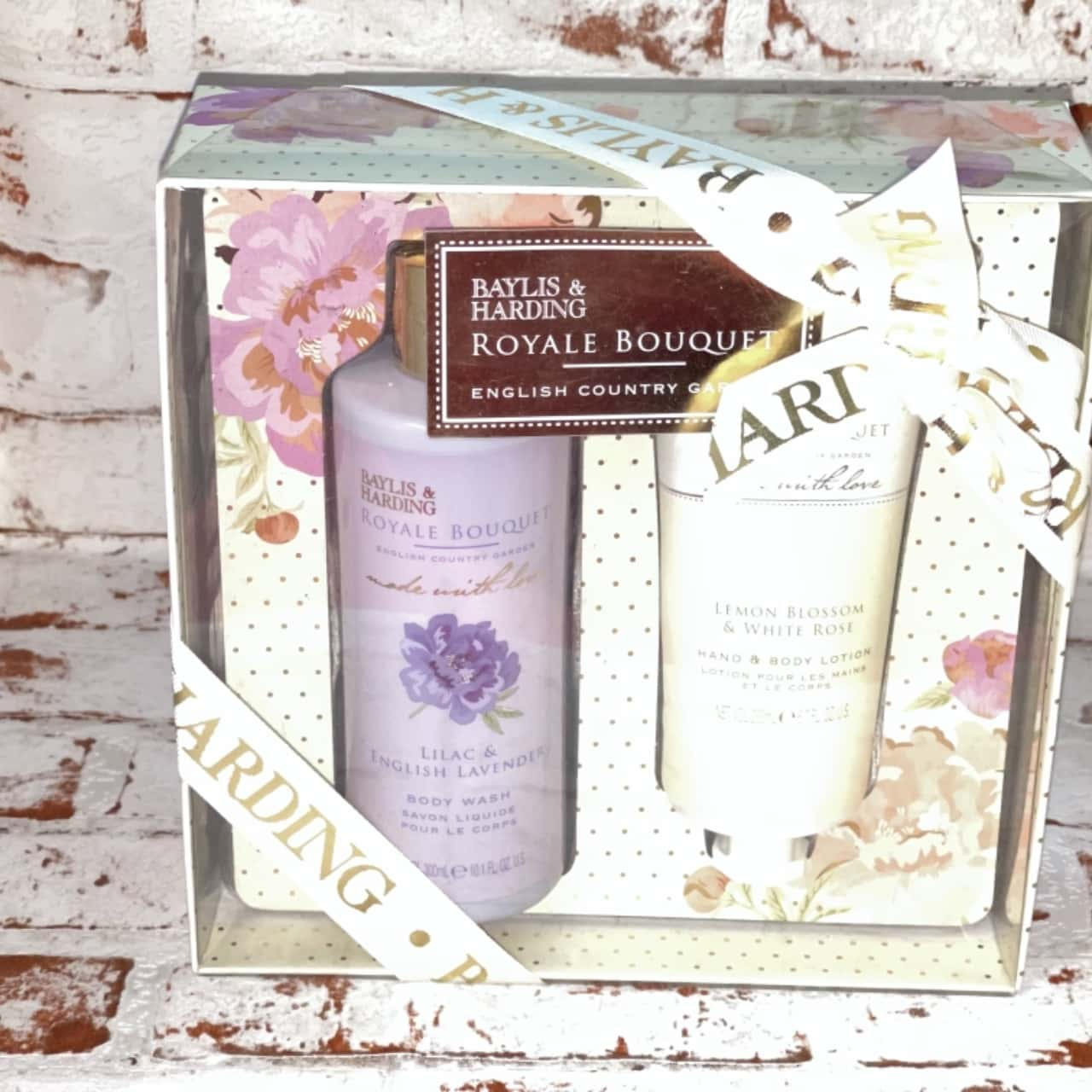 Raylis and Harding Royal Bouquet English Garden Body Wash And Hand N Body Lotion 300+200ml Gift Set