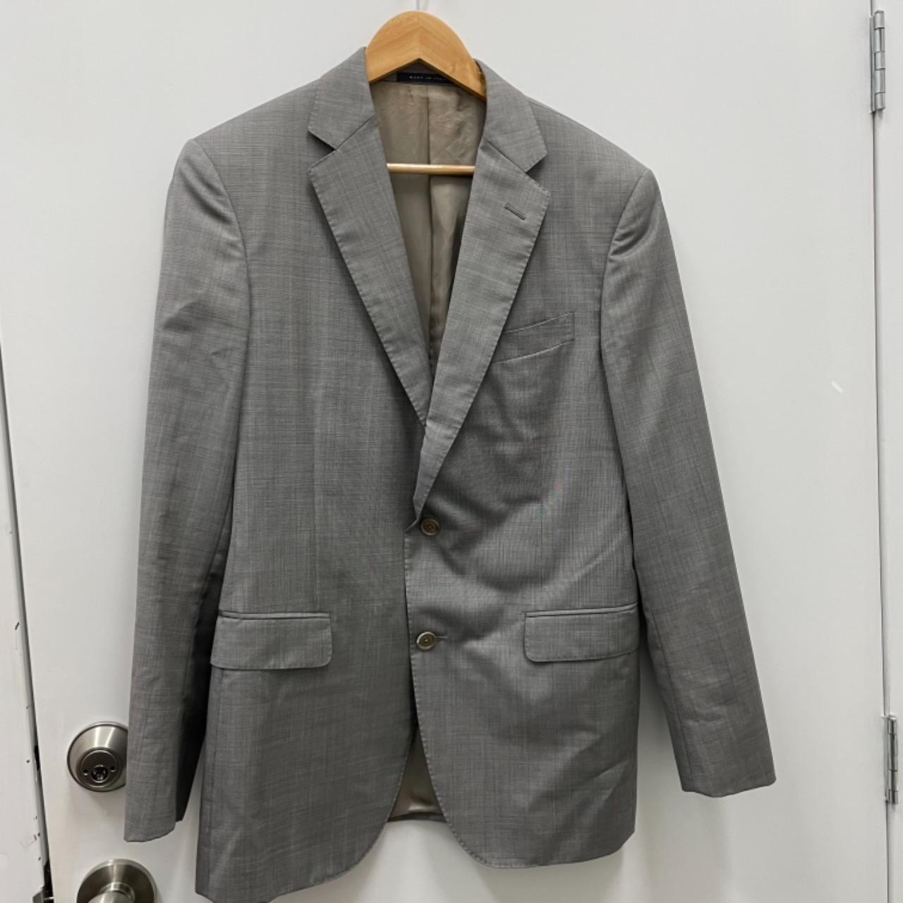 Pal Zileri Mens Blazer Size 50 R Grey