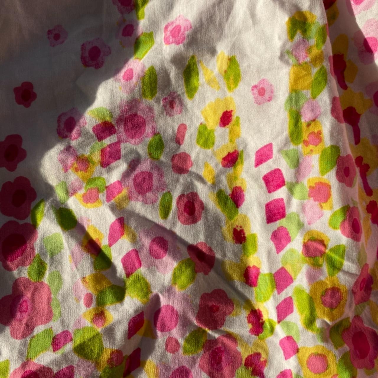 Girls JONA MICHELLE Sweet Summer dress Size 4  Green/Pink /White/Yellow Floral