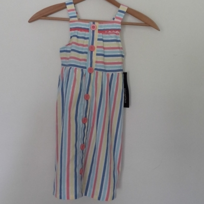 BNWT GIRLS PICAPINO SUMMER DRESS  Size 6 Dresses & Skirts Blue/Gold/Green/Orange/White/Yellow