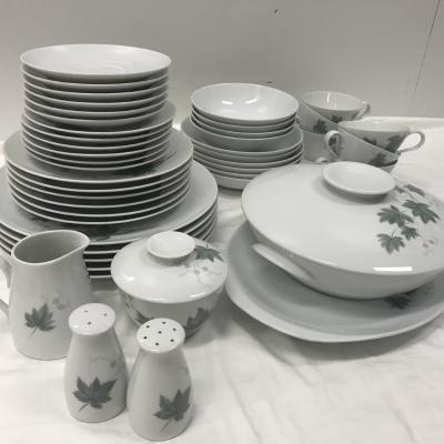 Noritake Vintage 1950s Wild Ivy 45 Piece Dinner & Tableware Set
