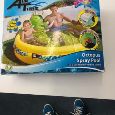 Octopus Spray Pool  150x50x32 cm