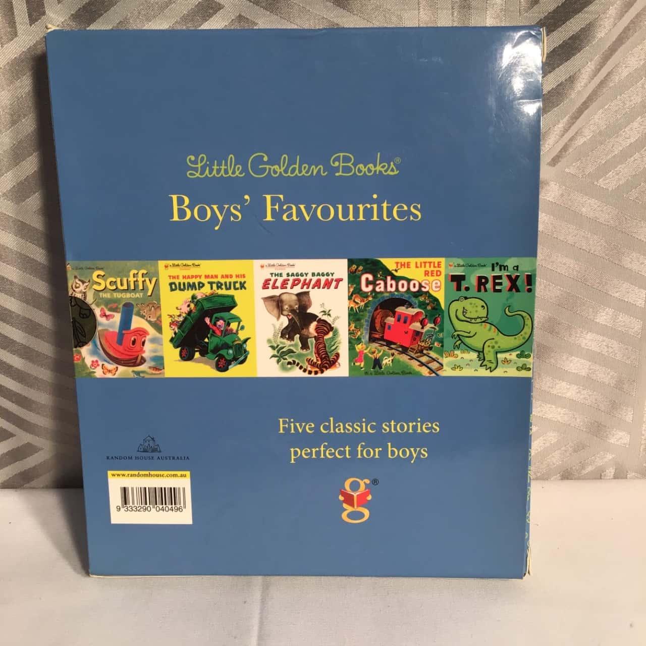 Boys Favourites Little Golden Books Set