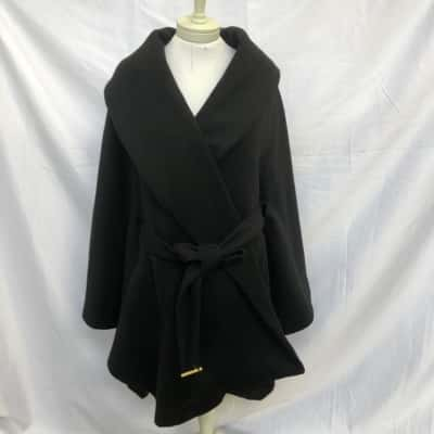 Blessed are the meek Women's  Size 10 Open Jacket Black