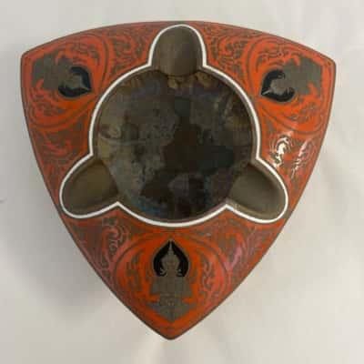 Vintage Bronze Ashtray