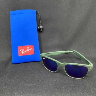 Ray Ban Kids Blue/Green Mirrored Lens Sunglasses