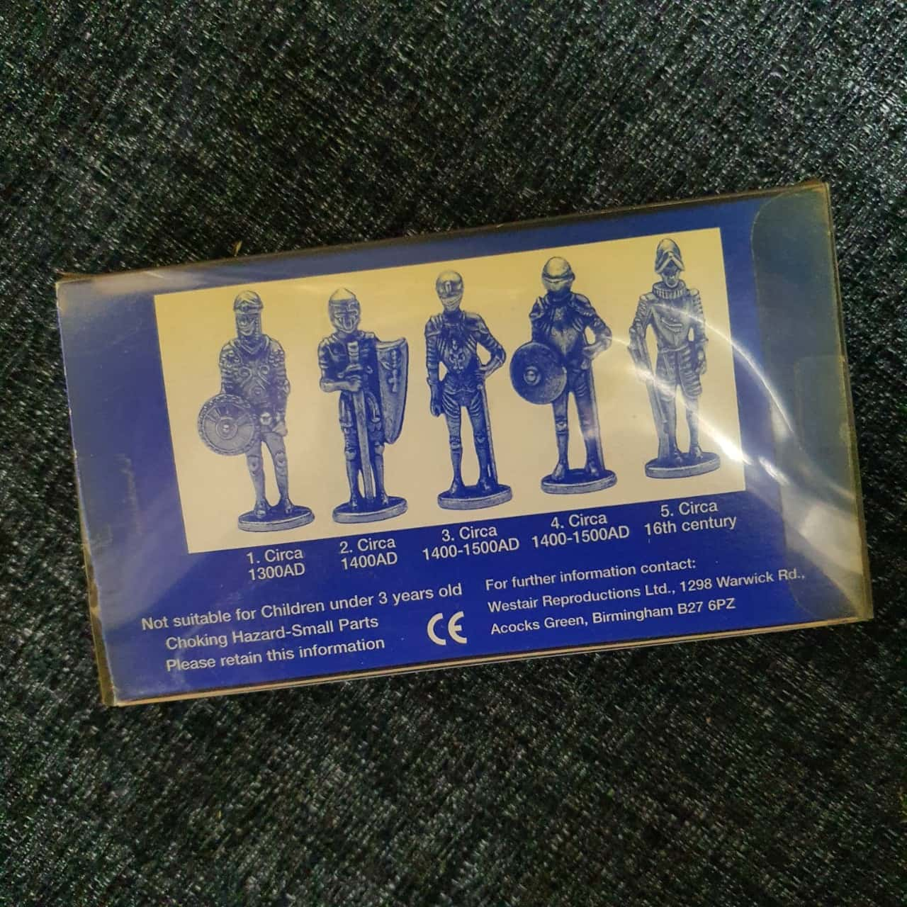 WESTAIR Vintage 2 Pack Figures *Knights In Armour* & Roman Military Figures