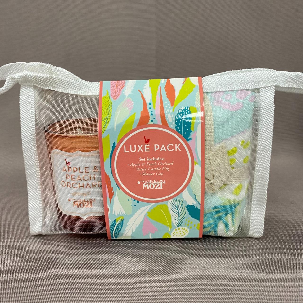 Solace Indulgence Bath Trio Gift Set + Mozi Luxe Pack Bundle Set New