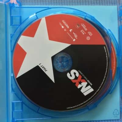 INXS NEVER TEAR US APART 2xBlu-ray Discs
