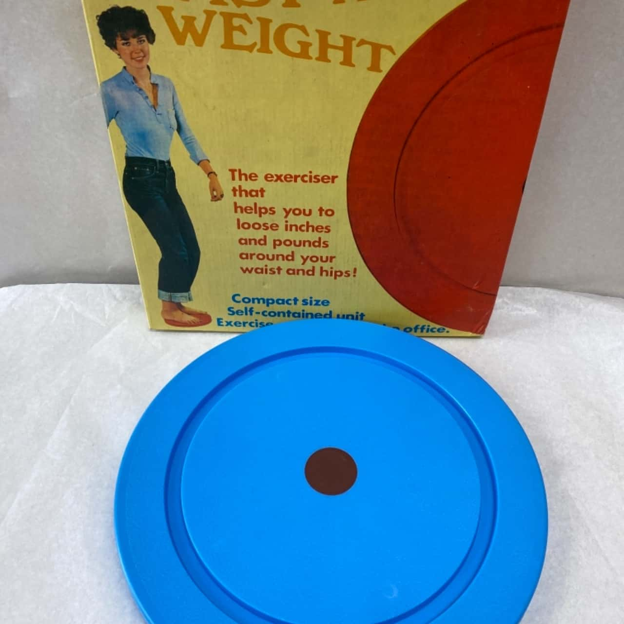 Retro Style Twist - A - Weight Home Exerciser-In Original Packaging