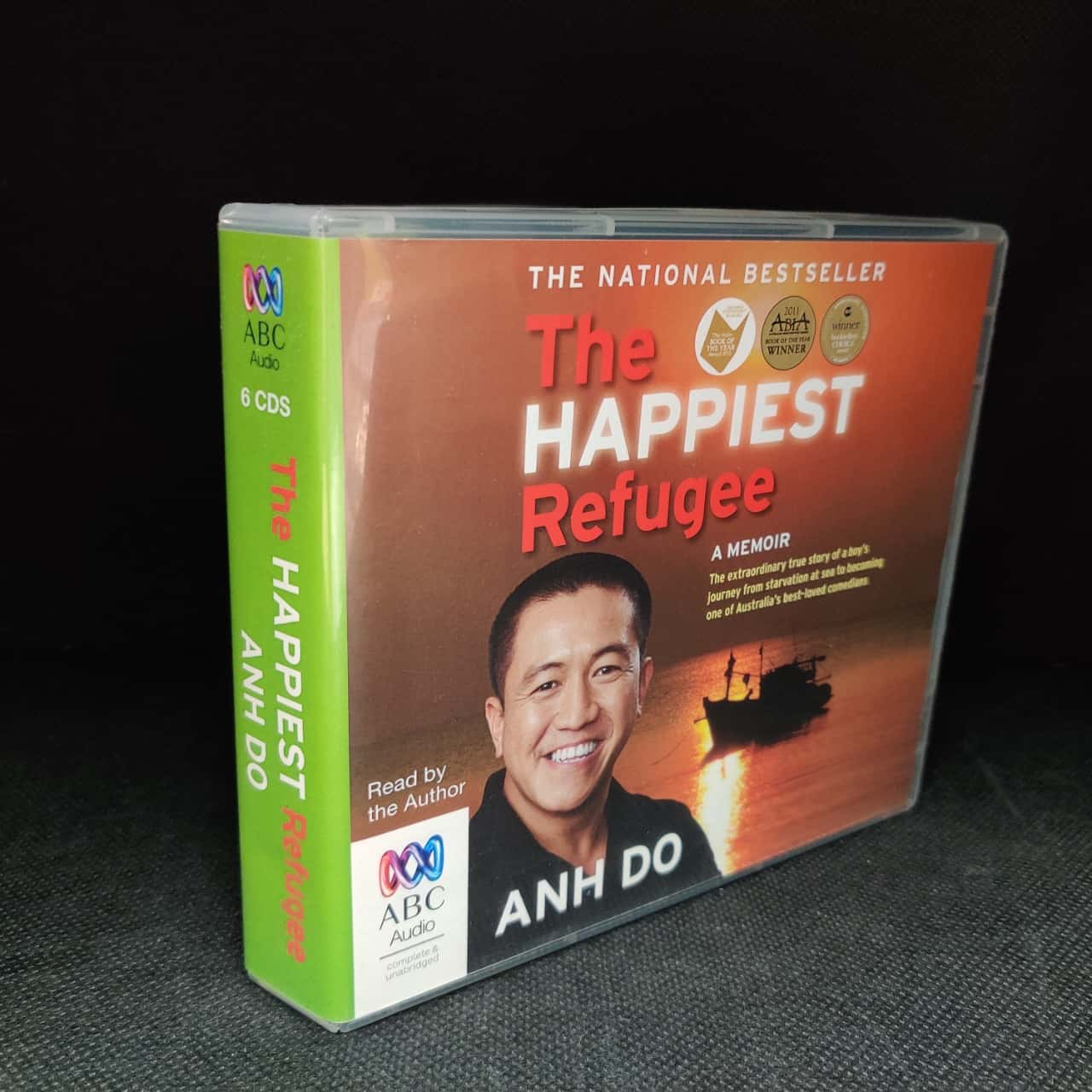 Anh Do Biography The Happiest Refugee CD Audio Book ABC Audio